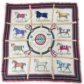 Hermès-Couvertures et tenues de Jour-Multicolore