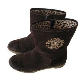 Roberto Cavalli-Boots-Brown