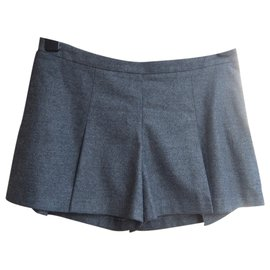 Fendi-Skirt-Grey