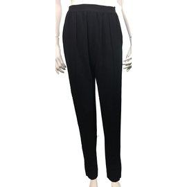 Céline-Trousers-Black