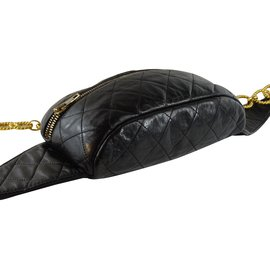 Chanel-Bum bag-Black