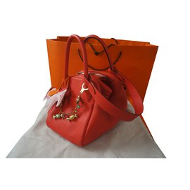 Hermès-LINDY 30-Rouge