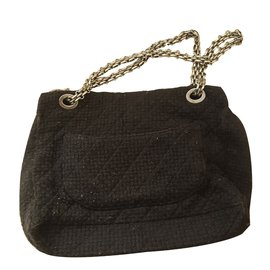 Chanel-2.55 XL-Black