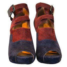 Hermès-Heels-Blue