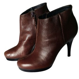 Balenciaga-Ankle Boots-Brown