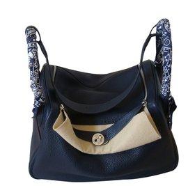 Hermès-Lindy 36-Bleu