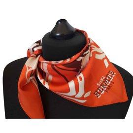 Hermès-CALECHE ELASTIQUE-Orange