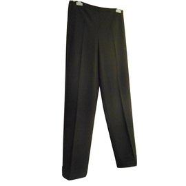 Hermès-Trousers-Black