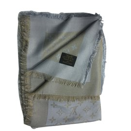 Louis Vuitton-Foulards-Beige