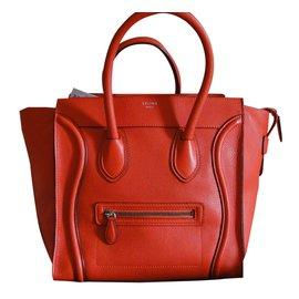 Céline-Handbag-Red