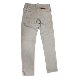 Burberry-Pantalon enfant-Beige