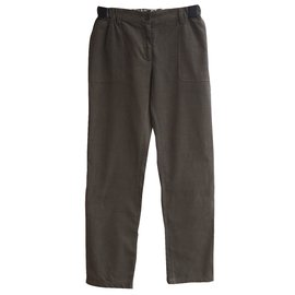 Bonpoint-girl trousers-Khaki