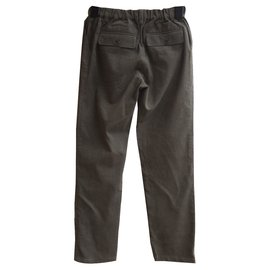 Bonpoint-Pantalon fille-Kaki