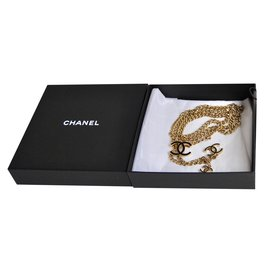 Chanel-Chain/belt/necklace-Golden