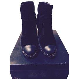 7df07a5701c5 Bottines Chanel - Joli Closet