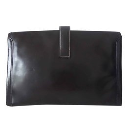 Hermès-POCHETTE JIGE-Noir