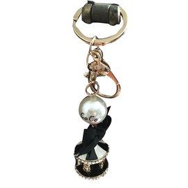 Chanel-Key holder-Golden
