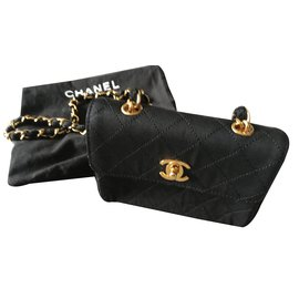 Chanel-mini timeless-Noir