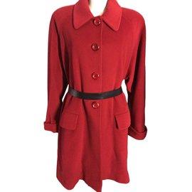 Burberry-Coat-Red