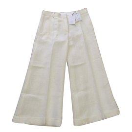 Céline-Culotte trousers-Eggshell