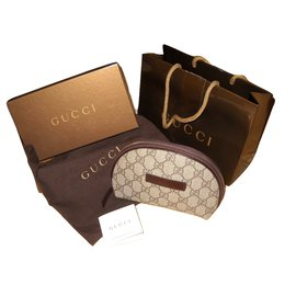 Gucci-Wallets Small accessories-Brown