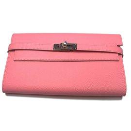 Hermès-Kelly purse-Pink