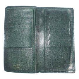 Louis Vuitton-Taiga wallet-Green
