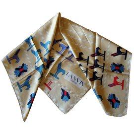 Lanvin-Silk scarf-Multiple colors