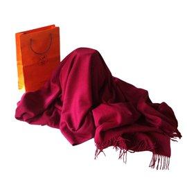 Hermès-light blanket-Red