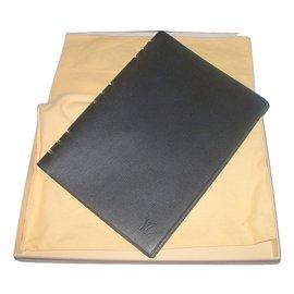 Louis Vuitton-diary / agenda holder-Black