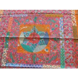 Hermès-Pique et Fleuri de Provence-Multicolore