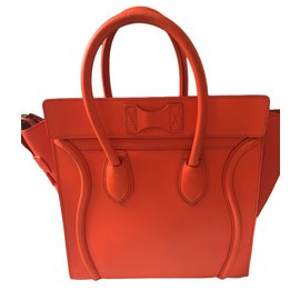 Céline-Luggage-Orange