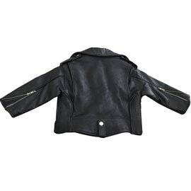 Autre Marque-biker jacket-Black