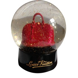 Louis Vuitton-Snow globe-Dark red