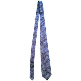 Vivienne Westwood-Cravate-Bleu