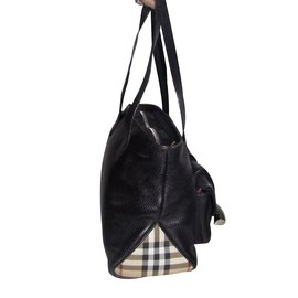 Burberry-Handbag-Black