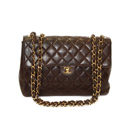 Chanel-jumbo 30-Brown