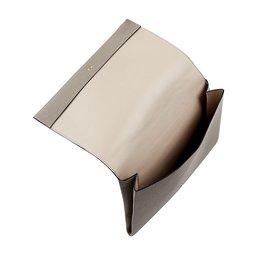 Chloé-Fold over Motty clutch-Black