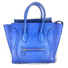 Céline-Céline Luggage blue-Blue
