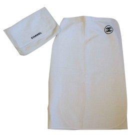 Chanel-Vêtements de bain-Blanc