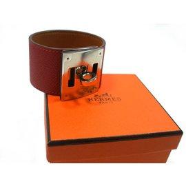 Hermès-Bracelet Kelly Dog-Rouge