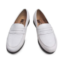 Autre Marque-TILL Oxfords Loafers-White