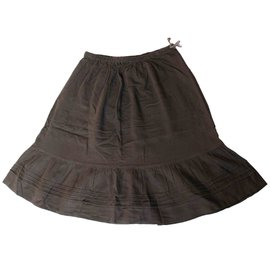 Bonpoint-Skirt-Brown
