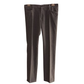 Dolce & Gabbana-Pantalons homme-Gris