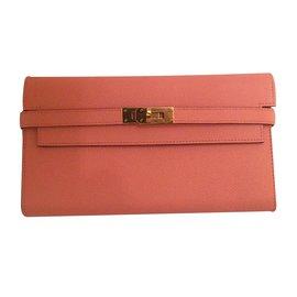 Hermès-Kelly long wallet-Autre