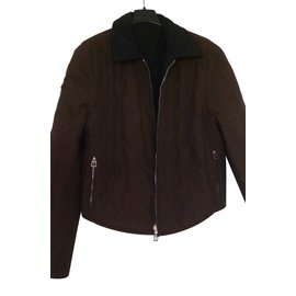 Hermès-Blouson réversible-Noir