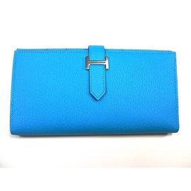 Hermès-Béarn-Blue