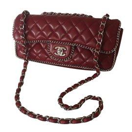 Chanel-Handbag-Red