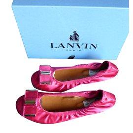 Lanvin-Ballerines-Rose