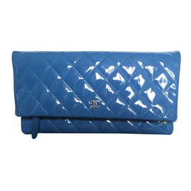 Chanel-Timeless clutch-Bleu